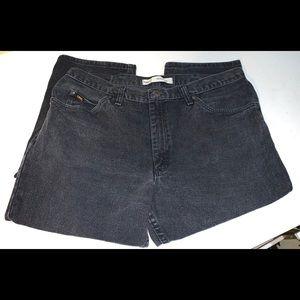 Lee Men's Black Regular Fit Jeans 40X32